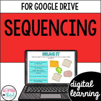 Sequencing for Google Classroom DIGITAL