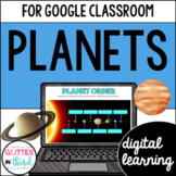Solar system and planets for Google Classroom DIGITAL