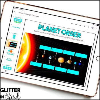 Space & Planets for Google Drive & Google Classroom