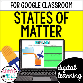 States of Matter for Google Drive & Google Classroom