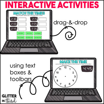 Telling Time for Google Drive & Google Classroom