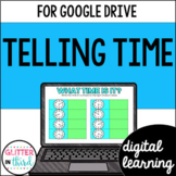 Telling Time for Math Google Drive & Google Classroom