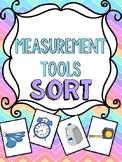 Tools of Measurement Sort Math Center Game