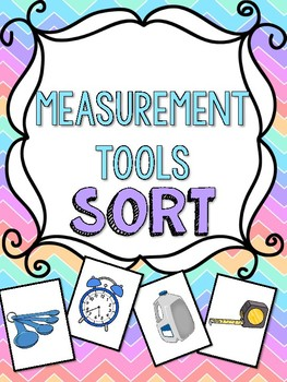 Tools of Measurement Sort Math Center Game