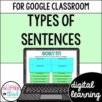 Types of Sentences for Google Drive & Google Classroom