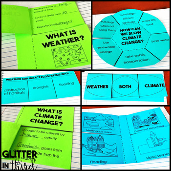 Weather, climate, and ecosystems Interactive Notebook