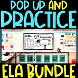 Pop Up Practice ELA Growing Bundle   Phonics & Movement Activities