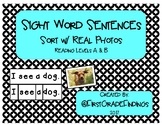 Sight Word Sentences Sort with Real Photos!