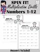 Multiplication Worksheets The Bundle