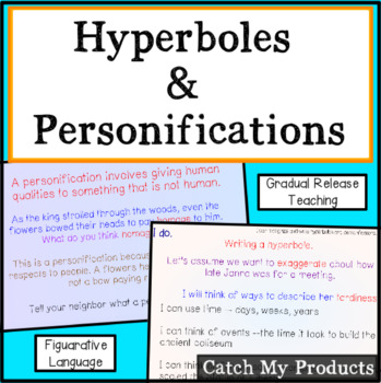 Figurative Language : Hyperboles and Personifications