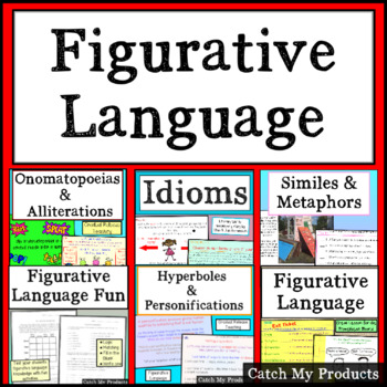 Figurative Language MEGA-Bundle for PROMETHEAN Board