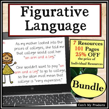 Figurative Language Power Point MEGA-Bundle