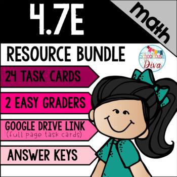 Finding Unknown Angles - 4.7E Math TEKS Resource Bundle