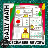 Christmas Morning Work First Grade - Christmas Math Activities