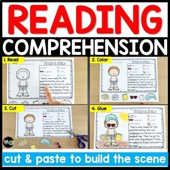 BUNDLE: Reading Comprehension Cut & Paste Passages