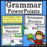 Grammar Review and Grammar Practice MEGA-Bundle Power Point