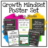 Growth Mindset Posters- Upper Grades