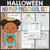 Halloween Activities for Preschool, Halloween Math Worksheets