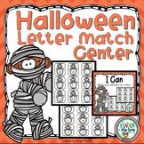 Halloween Letter Matching Center