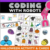Halloween Coding Activity Bee Bot