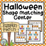 Halloween Shape Match Center