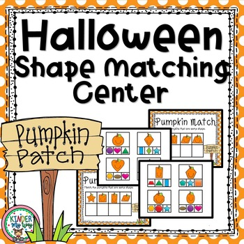 Halloween Shape Match Center