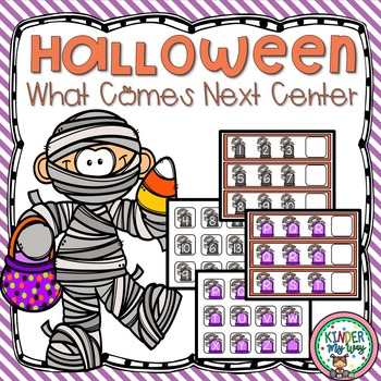 Halloween What Comes Next Center (Letters and Numbers)