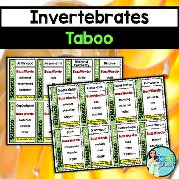 Invertebrates Taboo