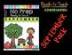 Kindergarten Fall NO PREP Math and Literacy Activities BUNDLE