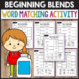 L Blends Worksheets, R Blends Activities - Word Matching