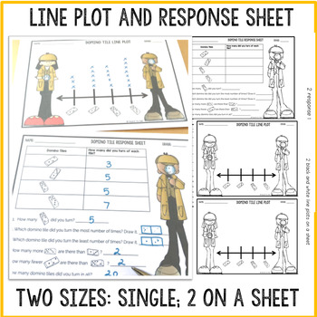 LINE PLOT: GRAPHING ACTIVITY: DOMINO TILE TURN
