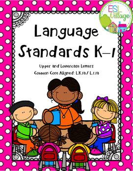 Language Standards K–1 {lowercase and uppercase}