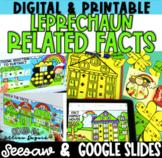 Leprechaun Fact Families - Digital & Printable- Google Sli