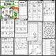 Long A Worksheets~ CVCE Words Activities NO PREP Printables