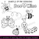 Love Bugs Clip Art Set for commercial or personal use. (31 piece)