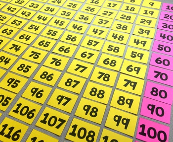 TABLE TOP Number Grid Puzzle