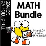 50% OFF Math Interactive Games **BUNDLE** for Grades 1-2 /