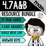 Measuring Angles using Circles - 4.7A & 4.7B Math TEKS Resource Bundle