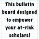 Menu Options for Rocking School: Smartphone Themed Bulletin Board