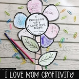 Mother's Day Craftivity ~ 6 Reasons I LOVE YOU, MOM!