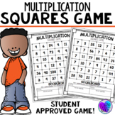 Multiplication Game - Squares