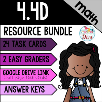 Multiplying Whole Numbers - 4.4D Math TEKS Resource Bundle