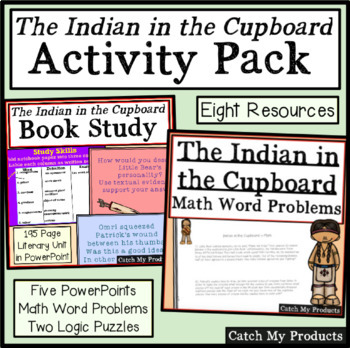 The Indian in the Cupboard Literary Bundle Pack