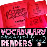 Vocabulary Emergent Readers GROWING BUNDLE