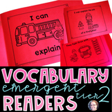 Academic Vocabulary Readers/Books Tier 2 Critical