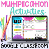 Multiplication Activities - Digital