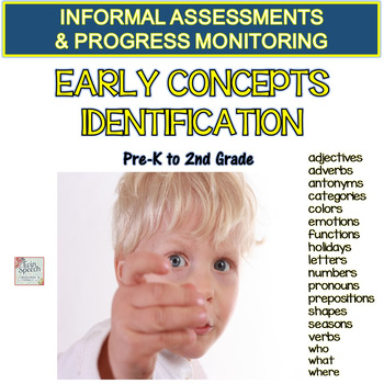 EARLY CONCEPT IDENTIFICATION- Informal Assessments & Progr