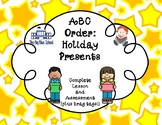 ABC Order: Holiday Presents Theme