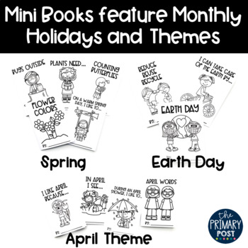 April Mini Books
