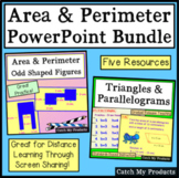 Area and Perimeter PowerPoints